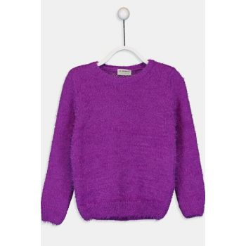 Girl's Purple Px3 Sweater 9WH311Z4