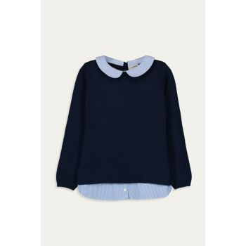 Girl Kids Navy Blue Hfh Sweater 9WH866Z4