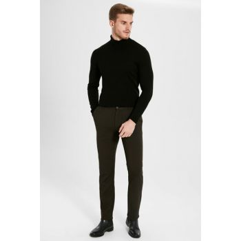 Men's Brown Trousers 9WU860Z8