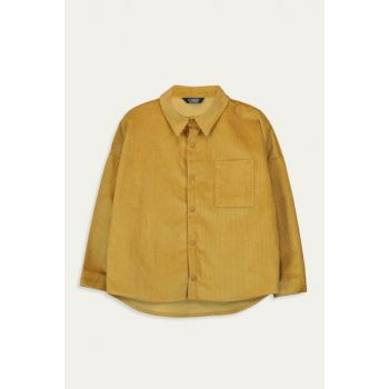 Boys' Dark Yellow Gcj Shirt 9WG512Z4