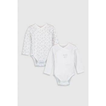 Baby Boy Optical White Ffb Snaps Body 2'Li 9WH123Z1