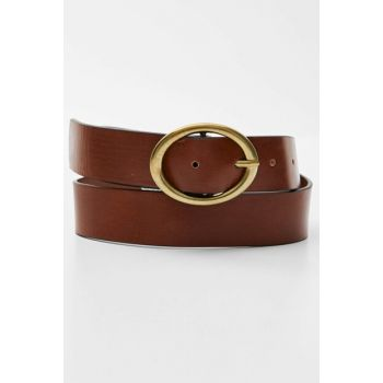 Women's Brown Dore Buckle Brown Belt 09873327
