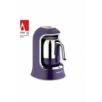 A860-01 Korkmaz Kahvekolik Lavender Automatic Coffee Machine