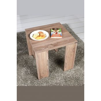 Adore Square Side Table - Latte SHP-61-LT-1