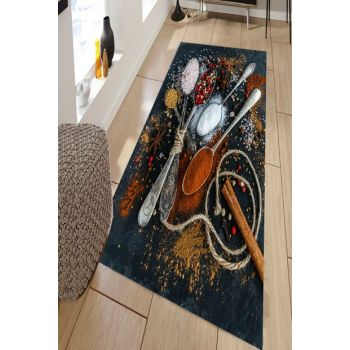 Digital Printed Carpet with Spice Pattern RSP001576