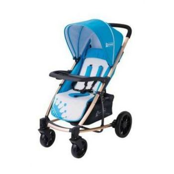Star Baby King Stroller Blue T38063
