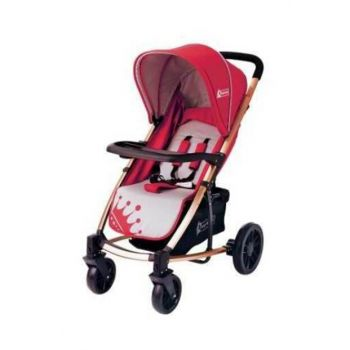 Star Baby King Stroller Bordeaux T38061