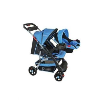 Star Baby Lion Two Way Travel System Baby Stroller Blue T38072