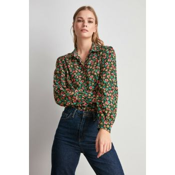 Multicolor Floral Patterned Shirt TWOAW20GO0410