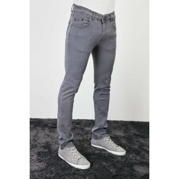 Gray Mens Skinny Jeans New TMNAW20JE0427
