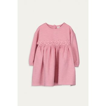 Baby Girl Matte Pink Fgv Dress 9WR084Z1