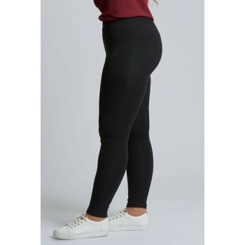 Women Black Full Lycra Leggings 111113500005
