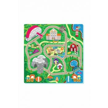 Play Rugs 9 Piece Railway Road 22893