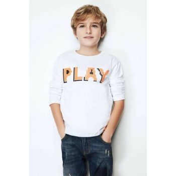 Boys' White T-Shirt 19FW0NB3520
