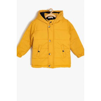 Hooded Coat 9KKB06139GW