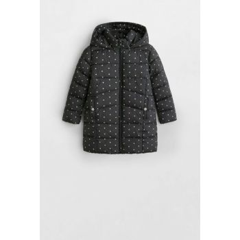 Black Girls Waterproof Quilted Coats 53043702