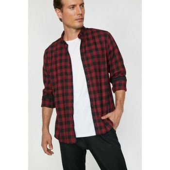 Men's Red Checked Shirt 0KAM61548LW