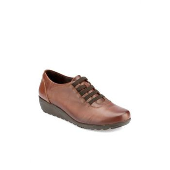 Genuine Leather Taba Women's Shoes 000000000100331052