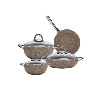 Avanos Terra Bio Granite 7 Pieces Cookware Set 153.03.07.8952