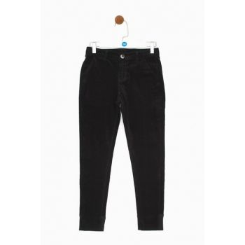 Boys Black Trousers 19FW0NB3250