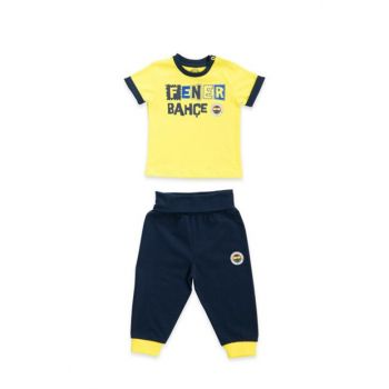 Licensed Unisex Baby Set of 2 Yellow FBB2019120-B-V1