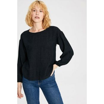 Women's Black Blouse 9WR864Z8