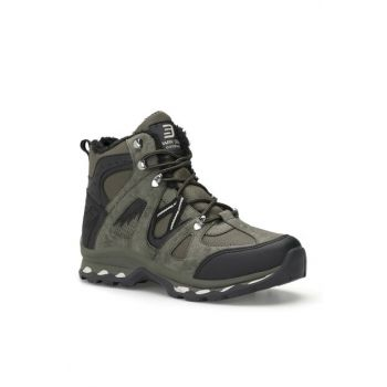 Black Khaki Unisex Outdoor Trekking Boots DS.1816