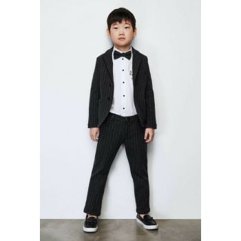 Boys Anthracite Trousers 19FW0NB3227