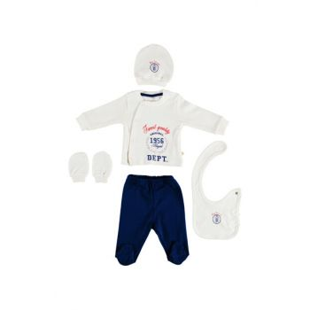 Ecru Baby Boy Bi Classic 5'Li Hospital Outlet B02500062039