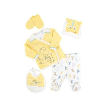 Yellow Puppy Dinosaur Baby Boy 5Li Hospital Outlet AF90151