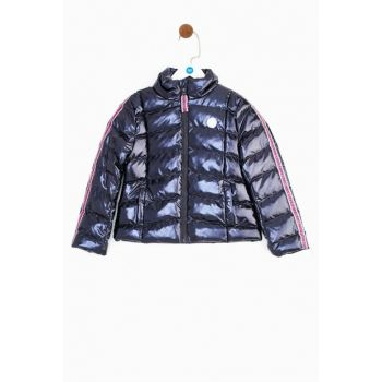 Older Girls' Patterned Coat 19PFWTJ4704