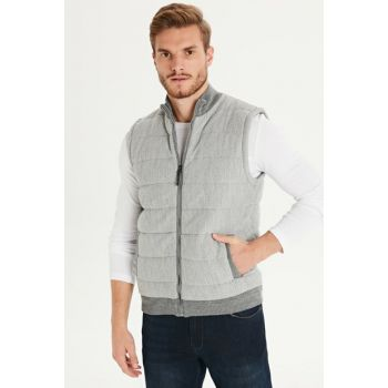 Men's Anthracite Vest 9W0884Z8