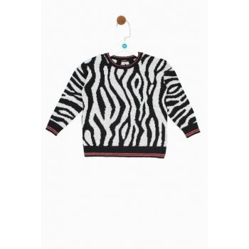 Girls' Patterned Sweater 19FW0TJ4440