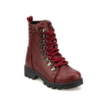 92.511820.P Maroon Girls' Boots