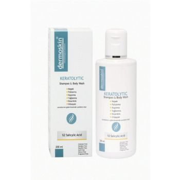 Strong Shampoo for Dandruff and Flaking 200ml 8697796000080