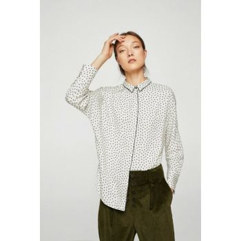 Women's Off White Printed Shirt 11097659