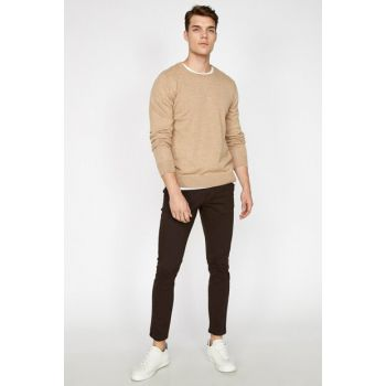 Men's Coffee Trousers 9KAM42510NW