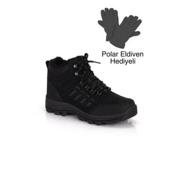 Black Men's Outdoor Shoes DPRMGMSTPX6