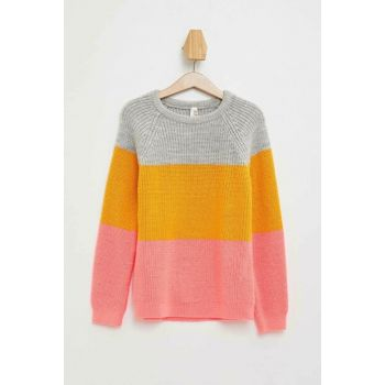 Color Blocked Sweater Sweater L3830A6.19AU.RD99