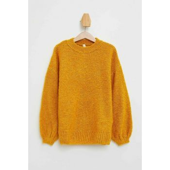 Yellow Girl Children Relax Fit Knitwear Sweater L3859A6.19WN.YL330