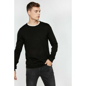 Men's Black Sweaters Bsc 0KAM92005LT