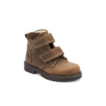Sand Color Boys Worker Boots 000000000100323795