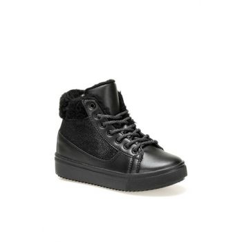 FITTO Black Girls Kids Sneaker Shoes