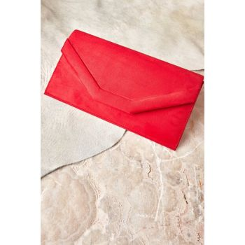 Red Women's Portfolio & Clutch Bag K35990440