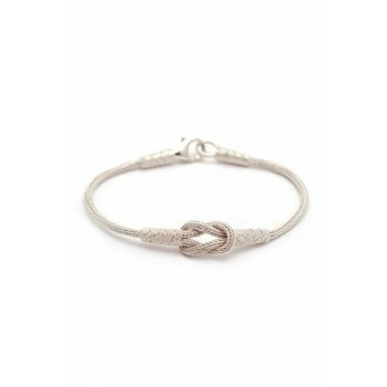 Hand Wrapped Bracelet in Silver 197 314452