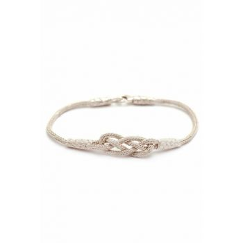 INFINITE LOVE CANCER HAND WRAPPING SILVER BRACELET 193 314469