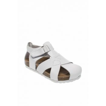 Genuine Leather White Boys Sandals 211 905.19Y87B