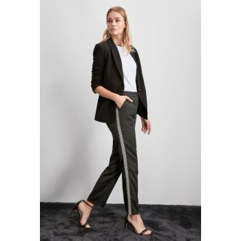 Anthracite Trousers TWOAW20PL0313