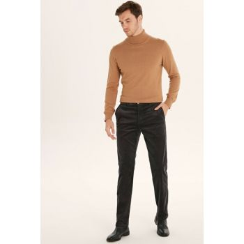 Men's Anthracite Trousers 9W3589Z8