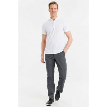 Men's Anthracite Trousers 9S5337Z8